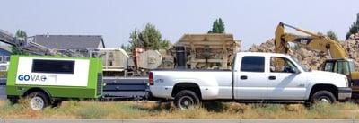 GoVac pipeline gas evacuation system